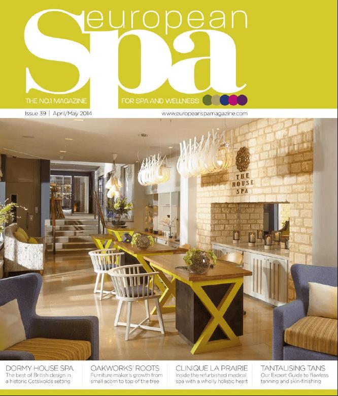 Sparcstudio | Dormy House Spa featured in European Spa Magazine ...