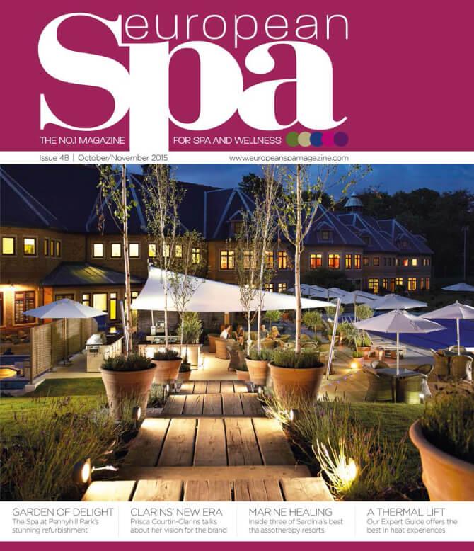 Pennyhill Park Spa - European Spa Magazine - Oct/Nov 2015