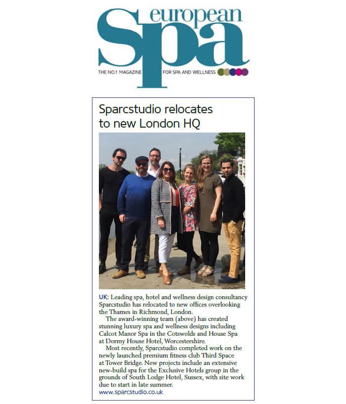 Sparcstudio design studio relocates - News