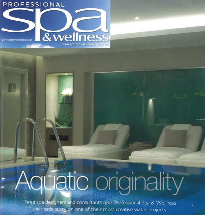 Professional Spa & Wellness magazine - Sparcstudio